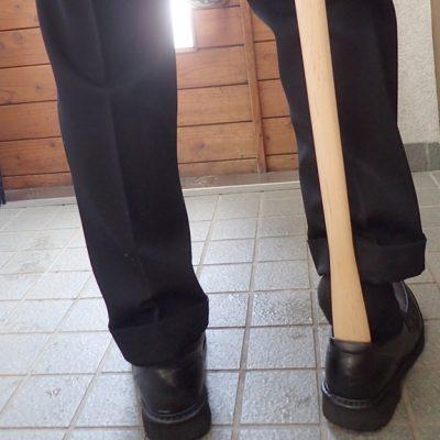 木製 靴べら